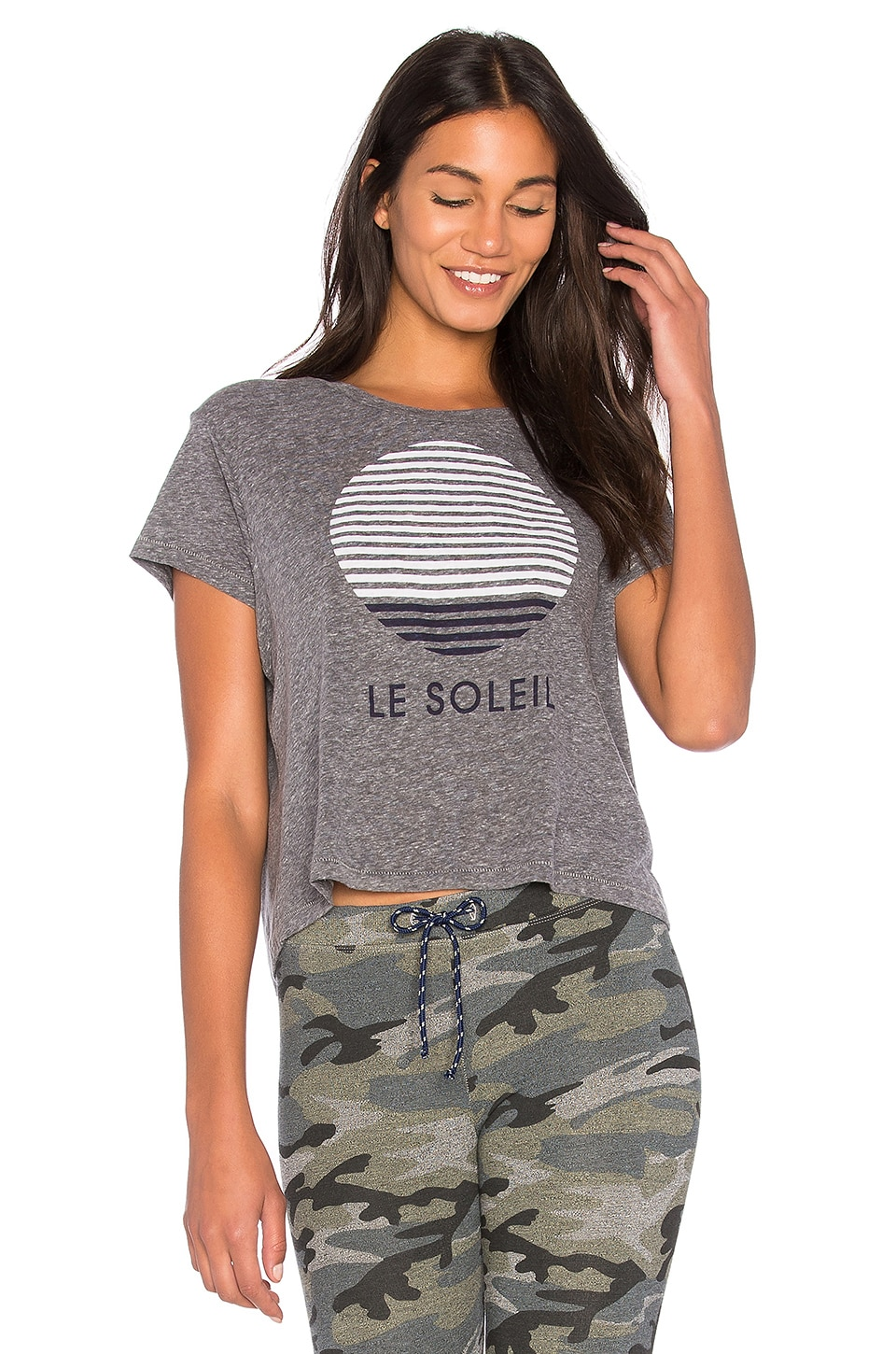 Le Soleil Cropped Tee