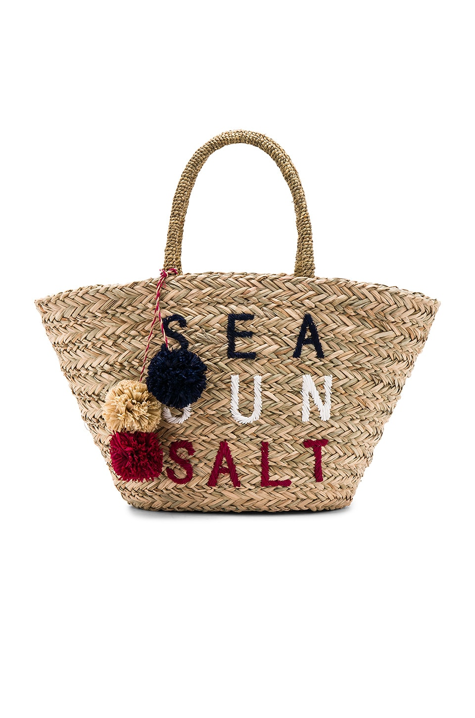 SUNDRY Sea Sun Salt Straw Tote in Natural