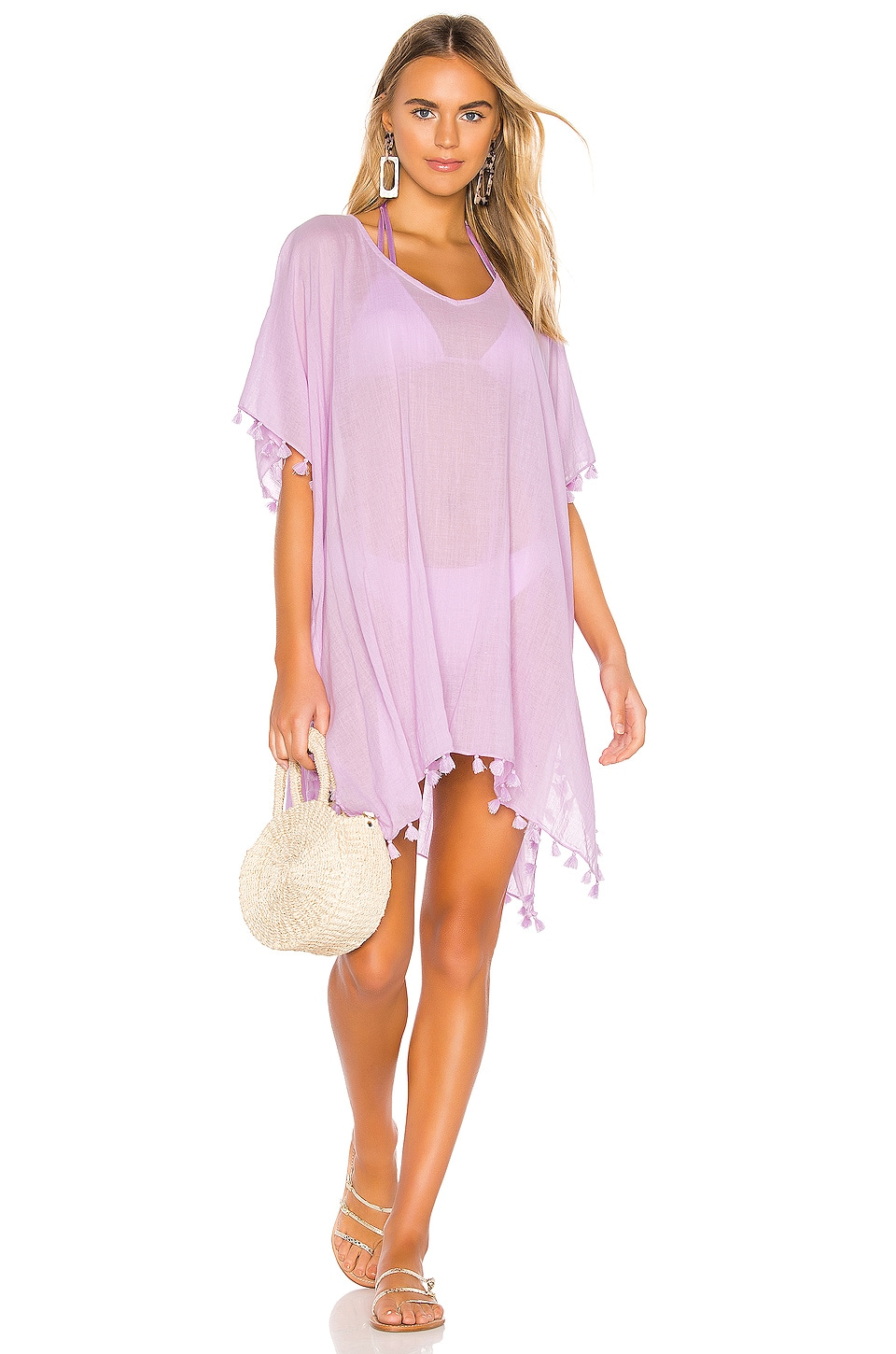 Seafolly Amnesia Kaftan in Lilac