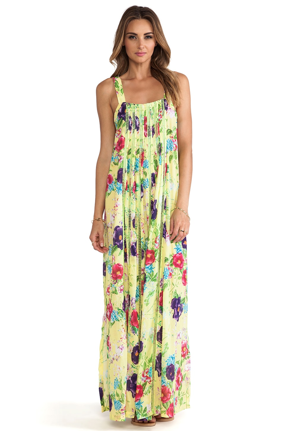 Seafolly Rumour Maxi Dress in Zest