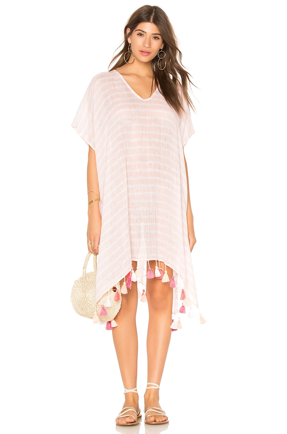 Linen Stripe Kaftan by Seafolly