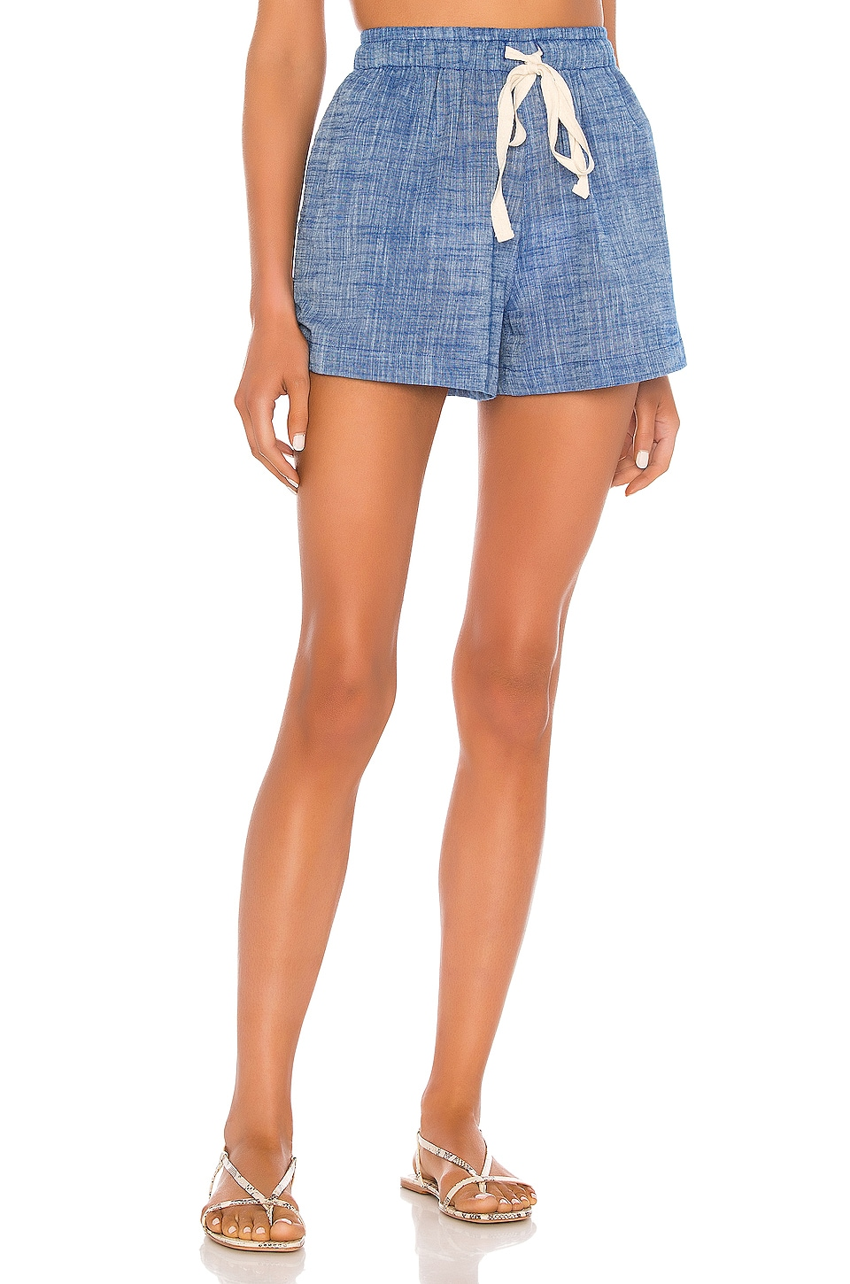 Seafolly Chambray Short in Deep Chambray