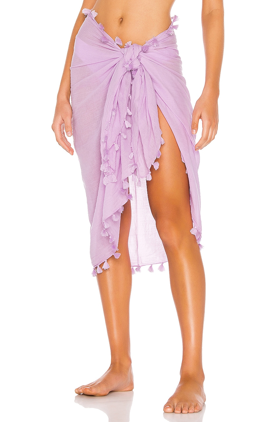 Seafolly Cotton Gauze Sarong in Lilac