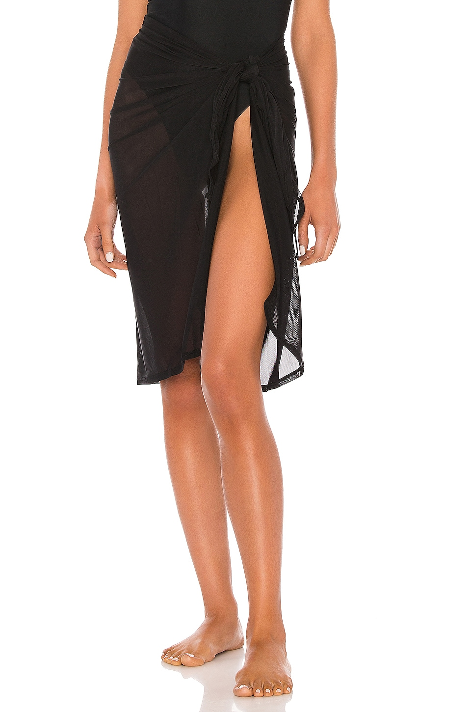 Seafolly Mid Pareo in Black