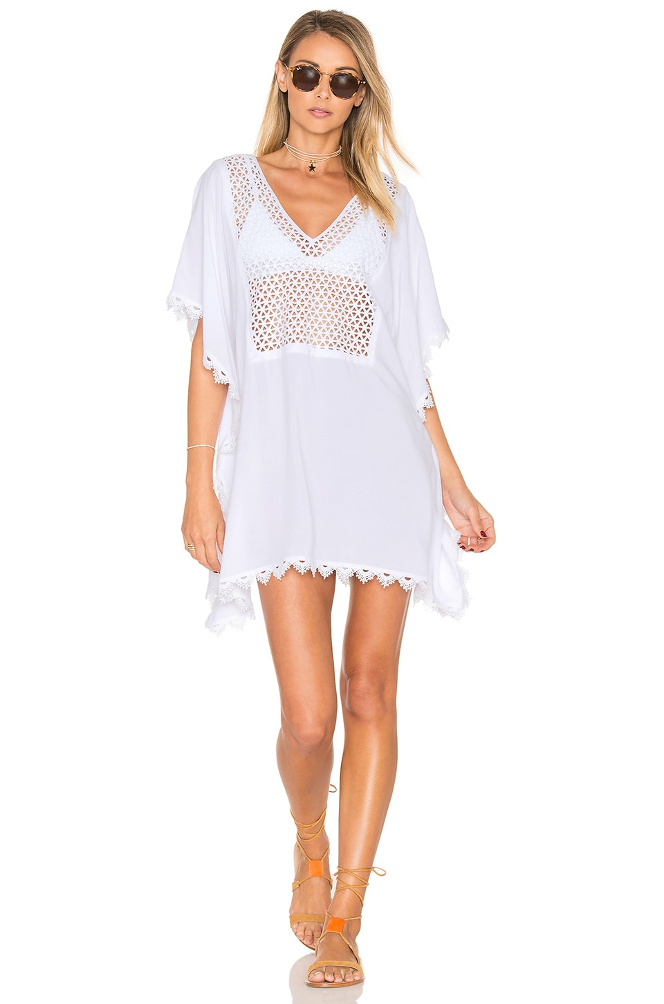 Lace Insert Caftan by Seafolly