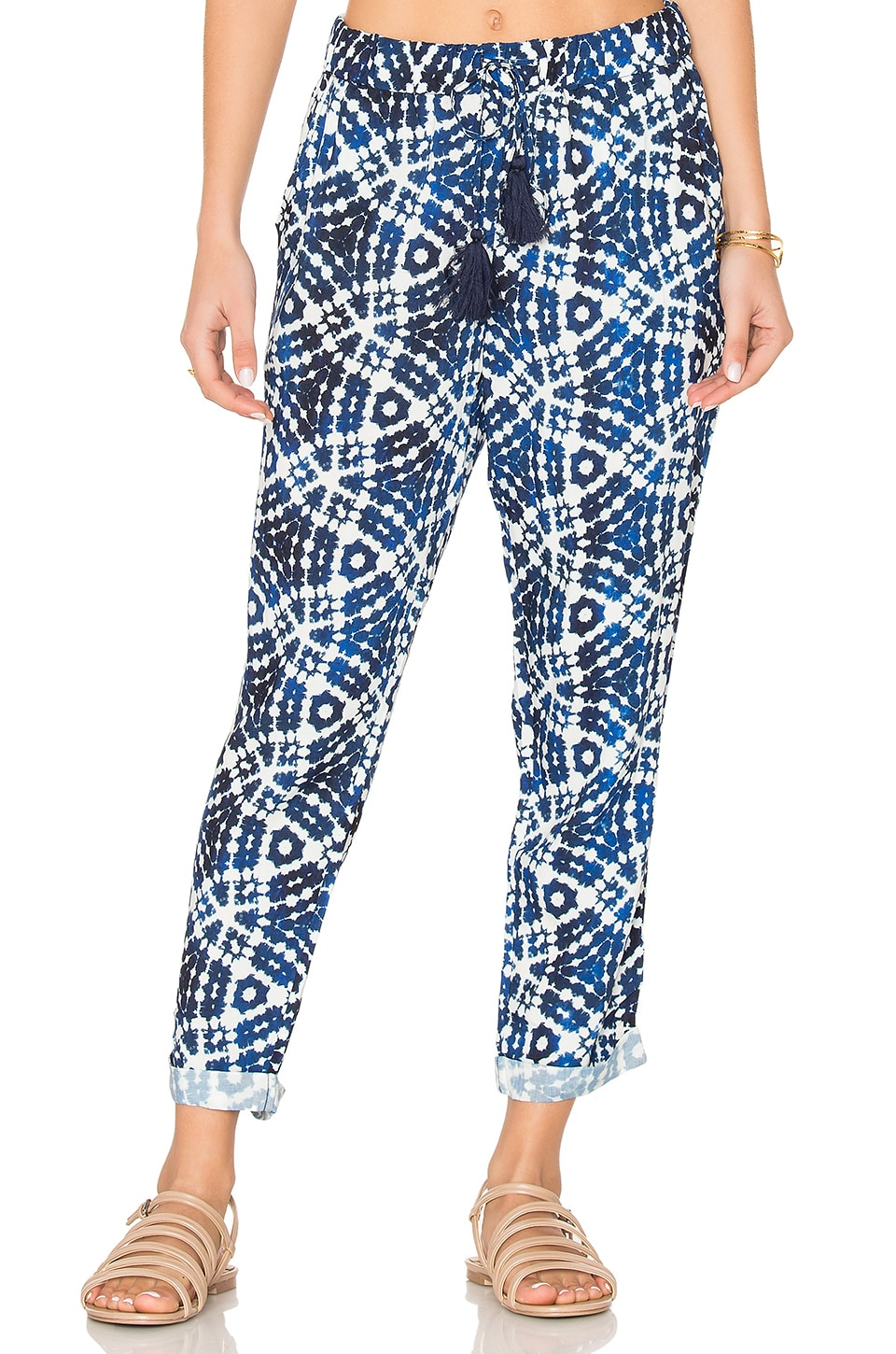 Seafolly Shibori Pant in Indigo