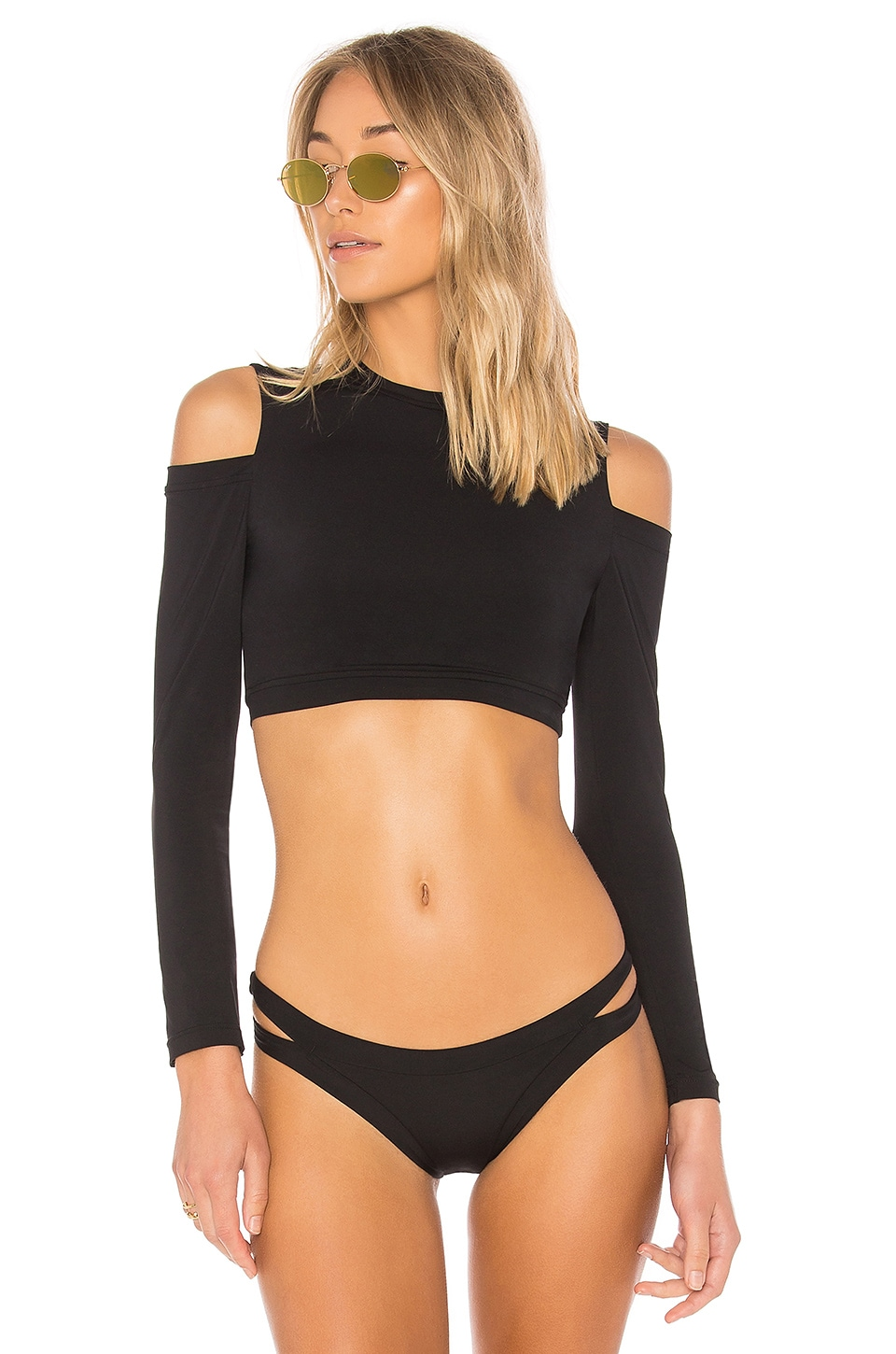 Cold Shoulder Rashguard Top by Seafolly Swimwear