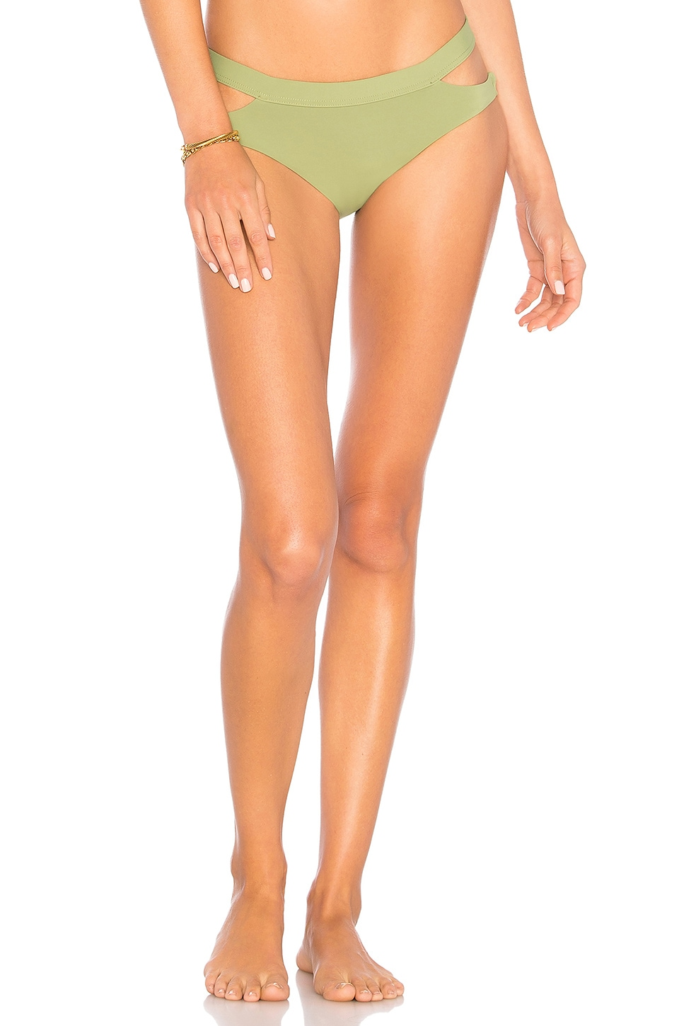 Seafolly Active Hipster in Moss