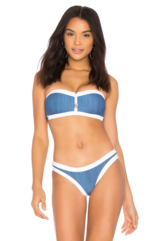 Block Party Bikini Top by Seafolly Swimwear