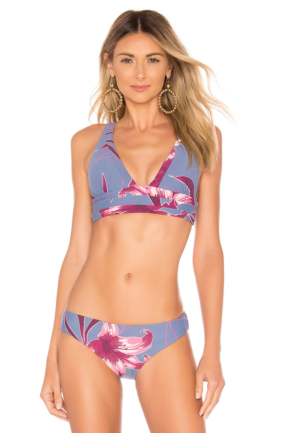 Seafolly Radiance Top in Floral