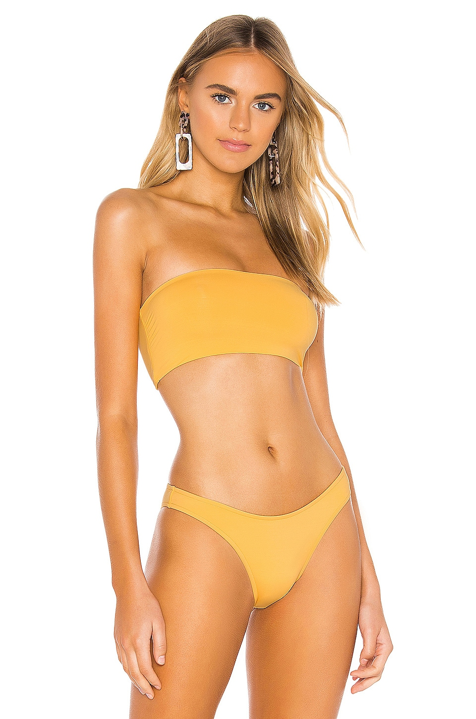 Seafolly Active Tube Top in Buttercup