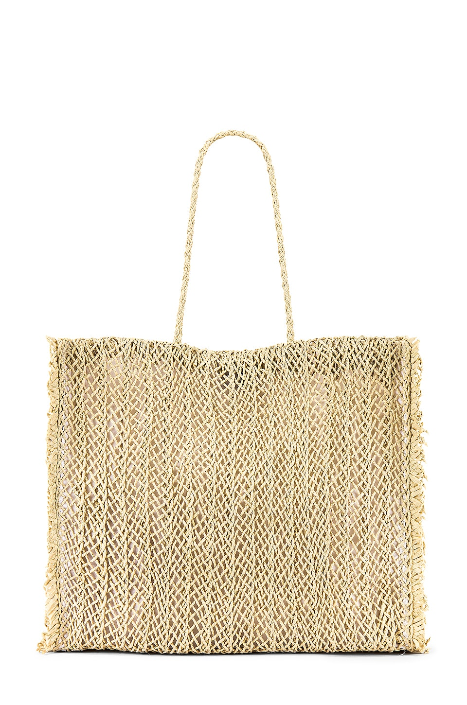 Seafolly Paper Crochet Bag in Natural