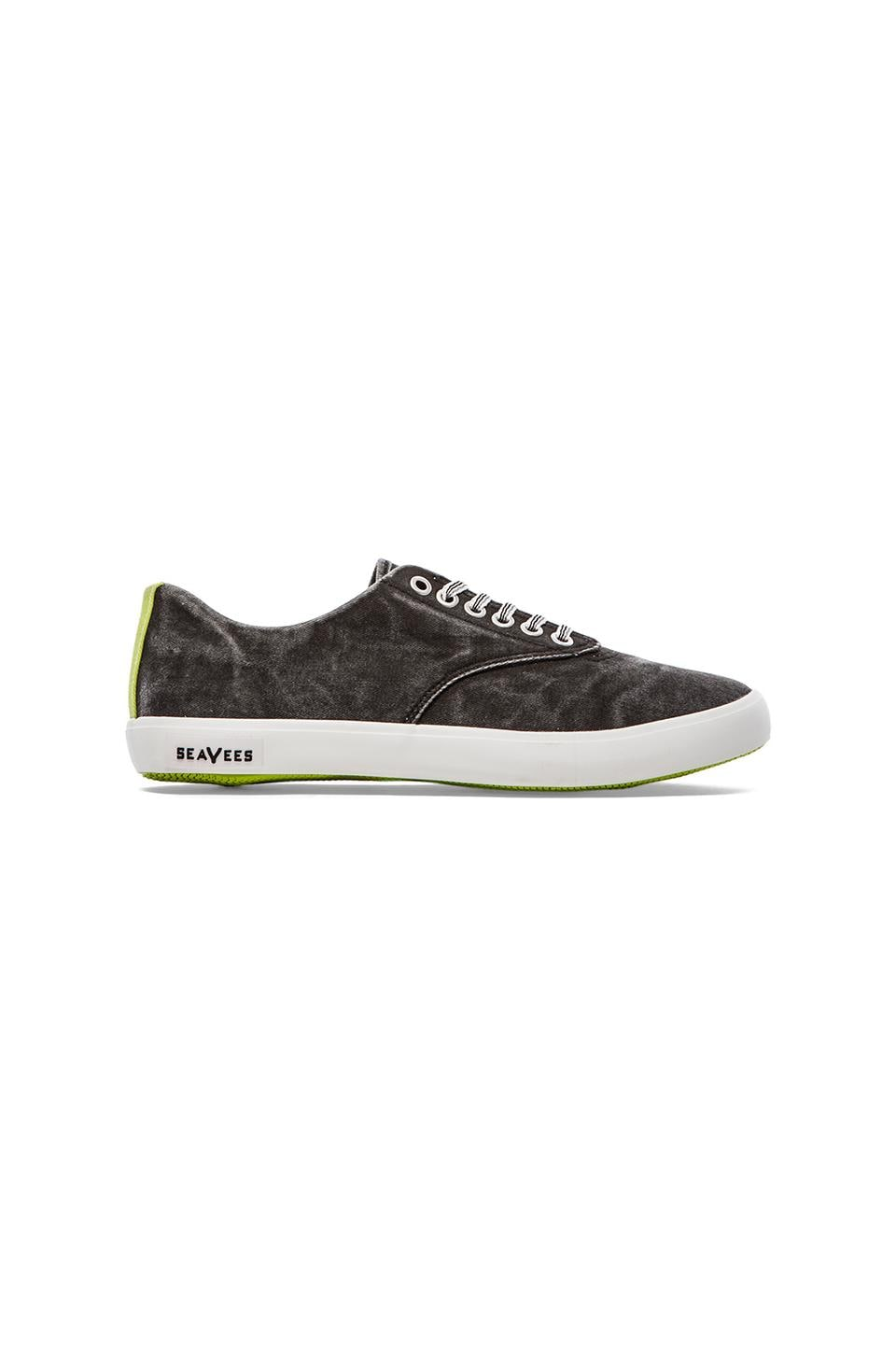 SeaVees x Katin USA 08/63 Hermosa Plimsoll Sneaker in Black Wash