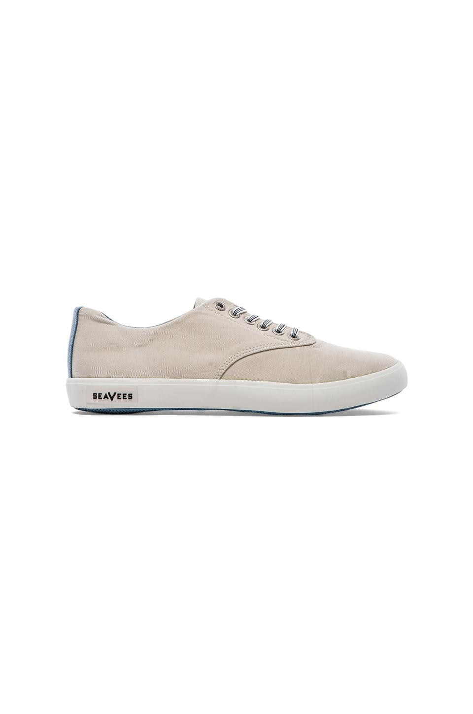 SeaVees x Katin USA 08/63 Hermosa Plimsoll in Shell Vintage