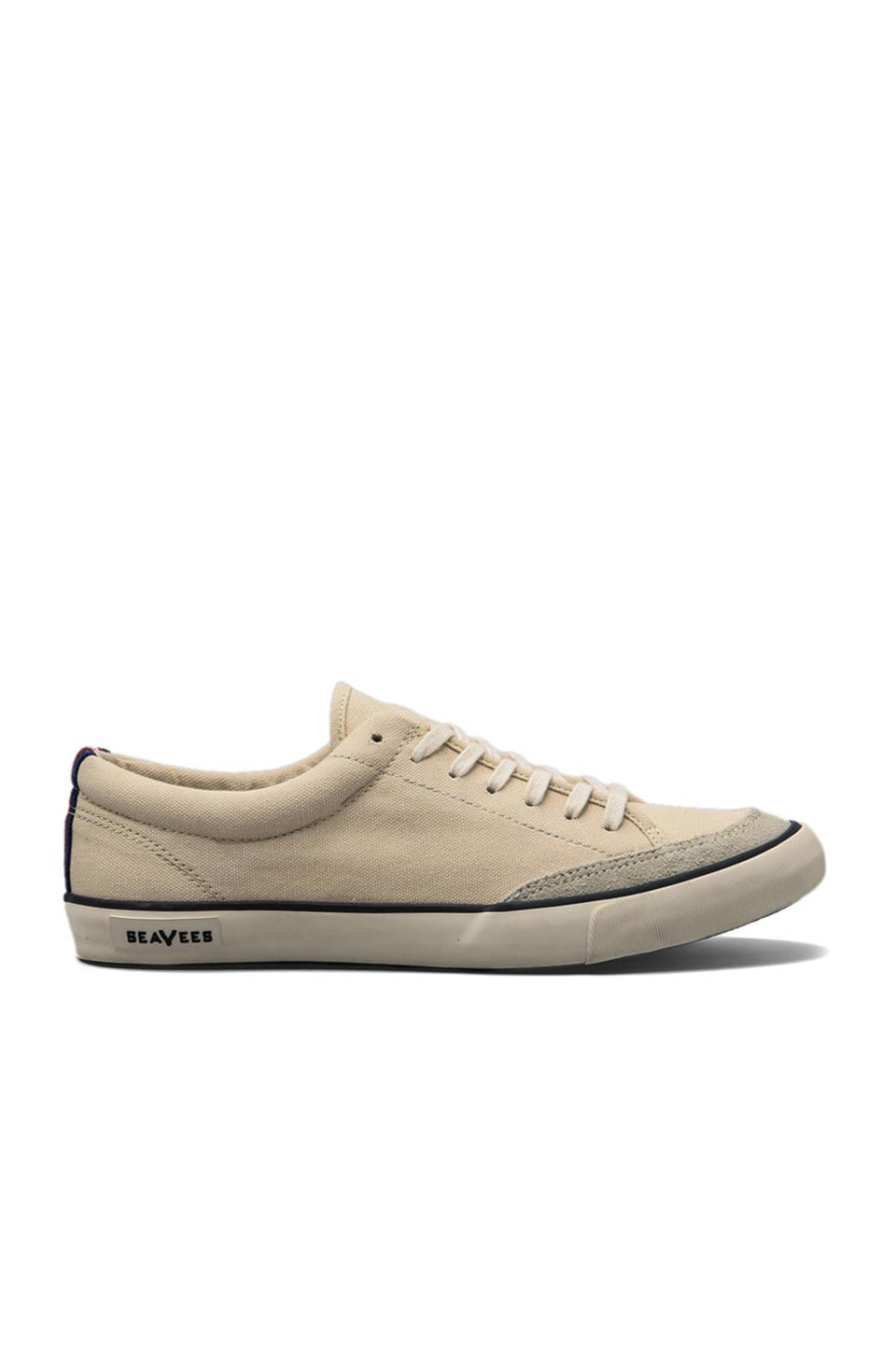 SeaVees Tennis Shoe Canvas in Natural