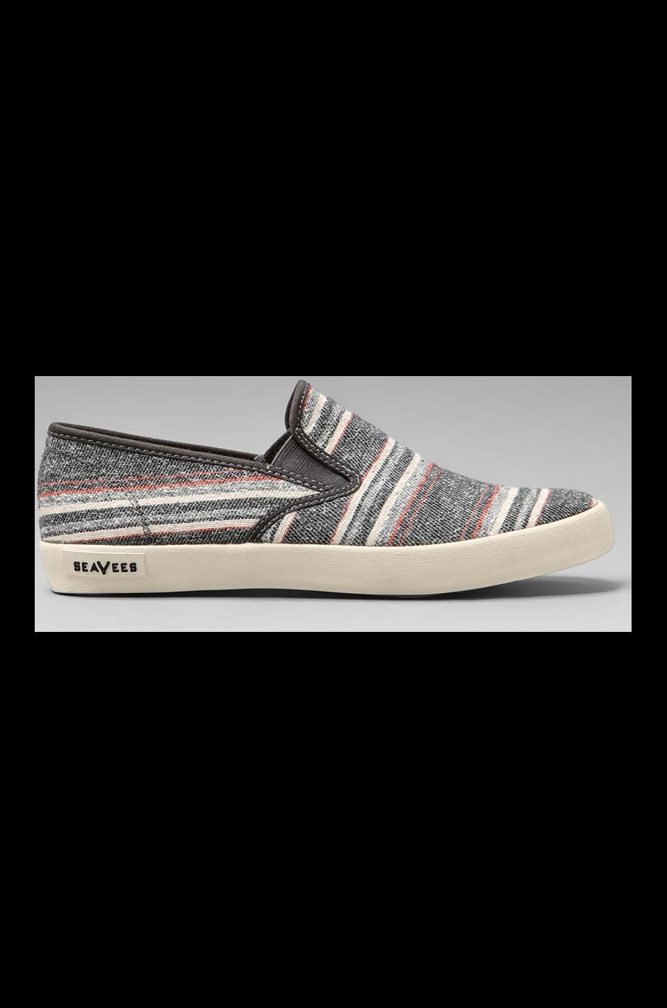 SeaVees Baja Slip-On Surfari in Grey Poncho Stripe