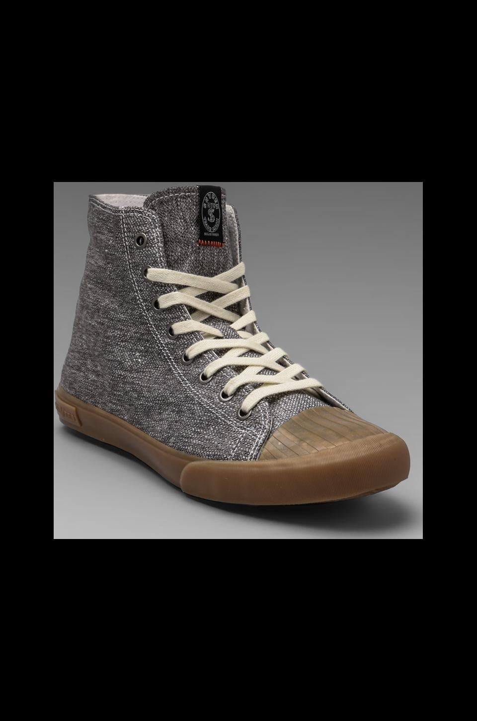 SeaVees x Todd Snyder Army Issue High Top in Grey Twill