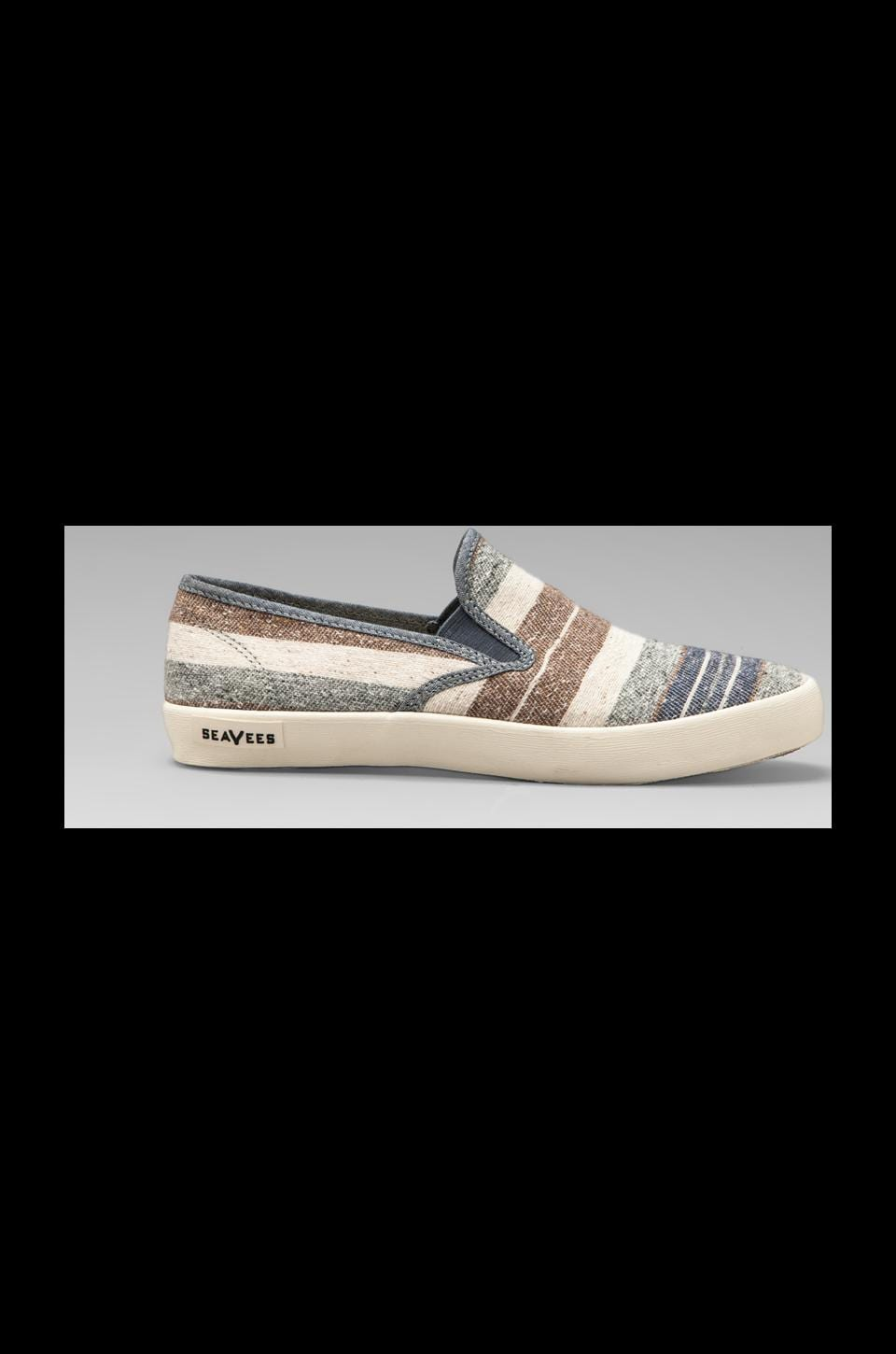 SeaVees Baja Slip-On in Oatmeal Poncho Stripe