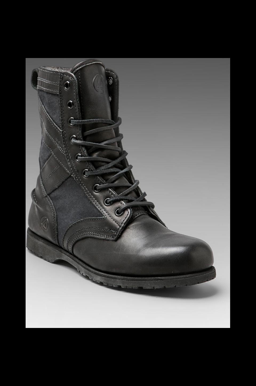 Sebago x Linking Park Jungle Boot in Black