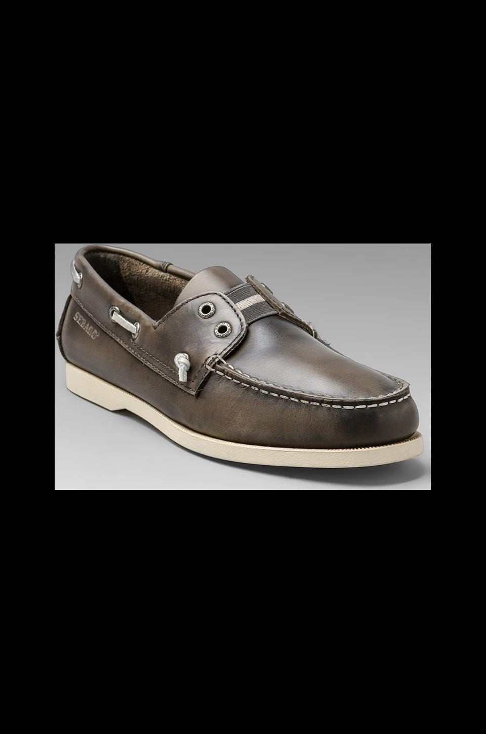 Sebago Wharf Slip-On in Gray