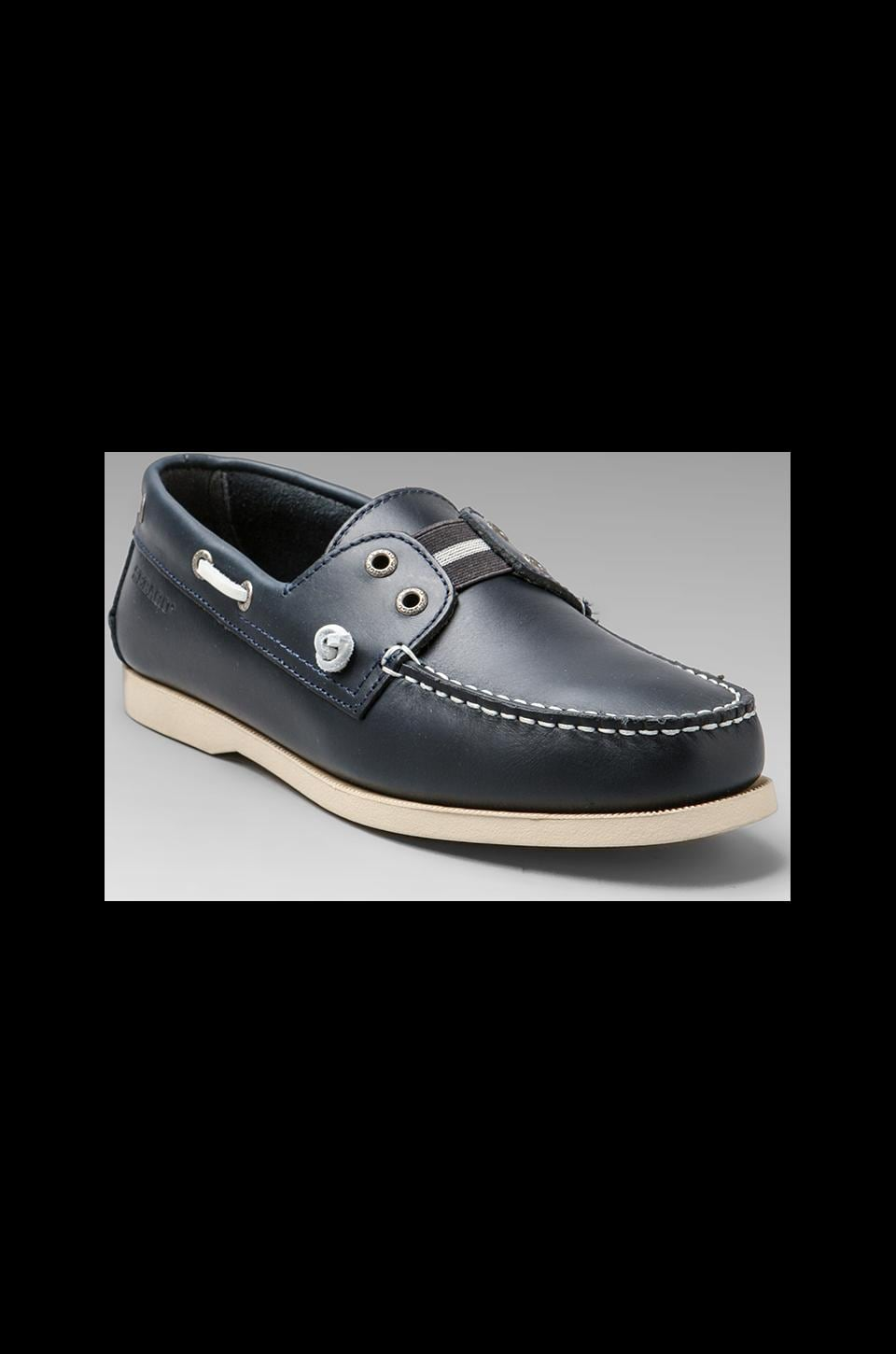Sebago Wharf Slip-On in Navy