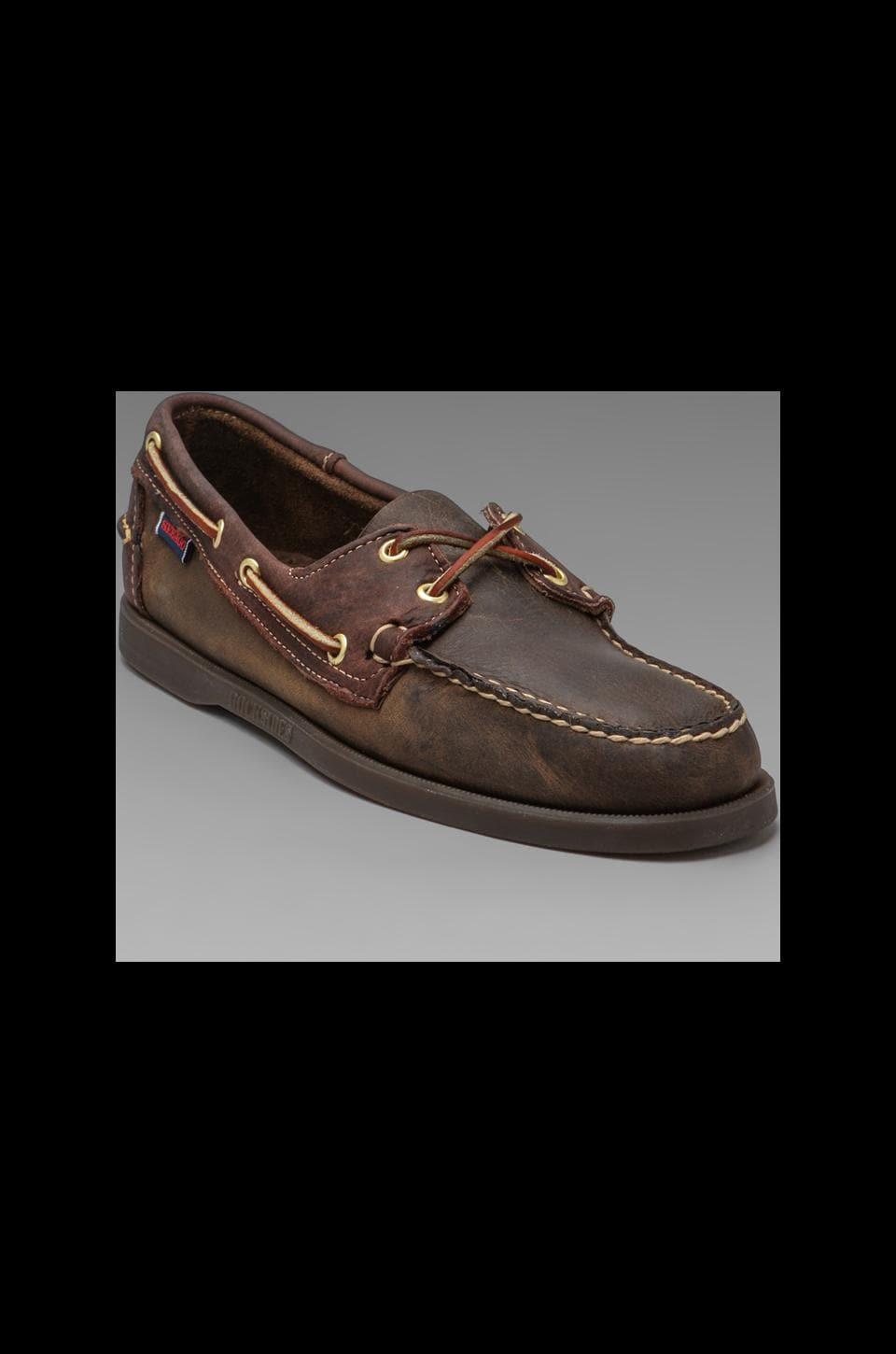 Sebago Spinnaker in Brown
