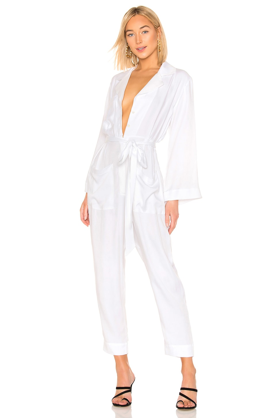 Secular The Jody Jumpsuit in White