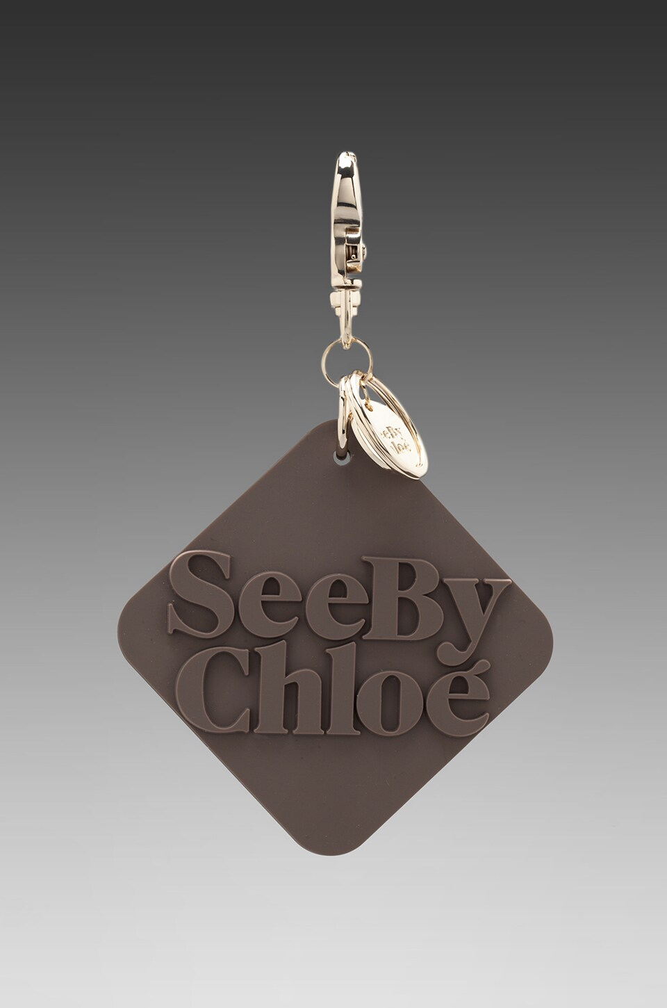 See By Chloe Joy Rider Tag in Taupe