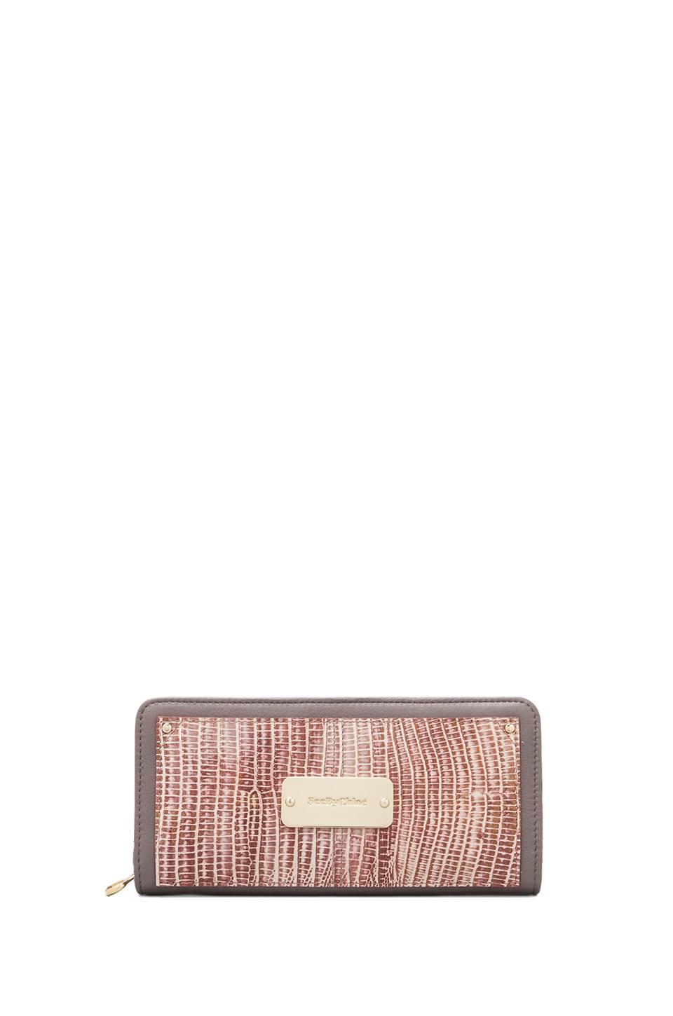 See By Chloe Nellie Book Wallet in Mist