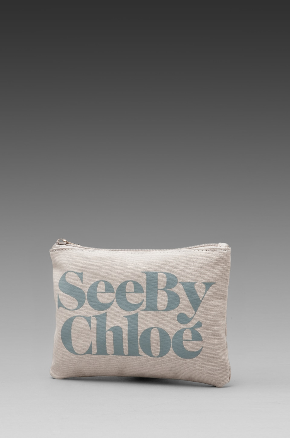 See By Chloe Gimmick Zip Pouch in Opaline