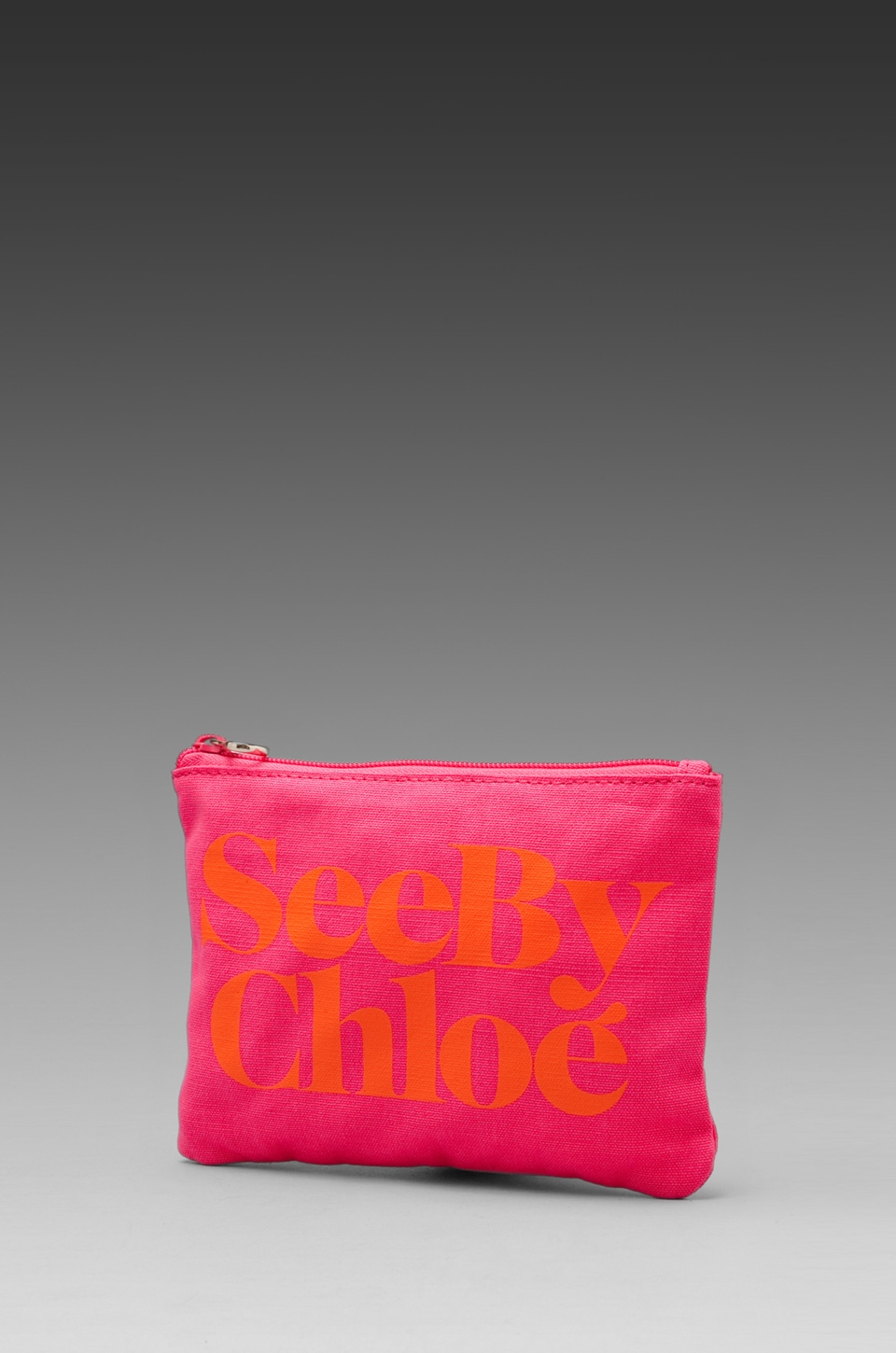 See By Chloe Gimmick Zip Pouch in Indian Pink