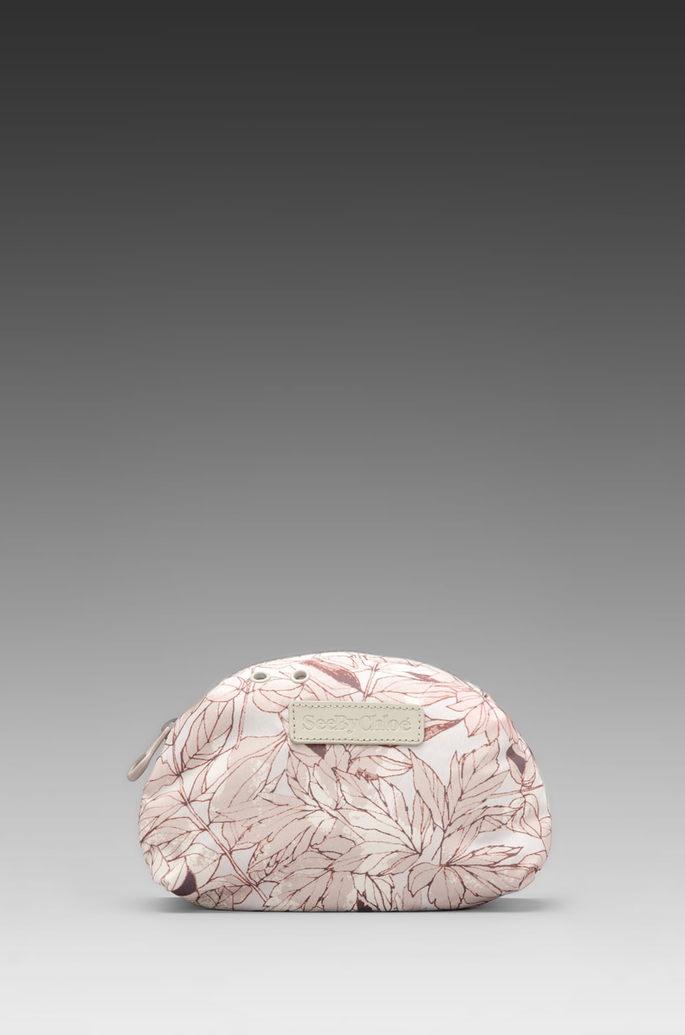 See By Chloe Joyrider Cosmetic Pouch in Flower Fossil Moon