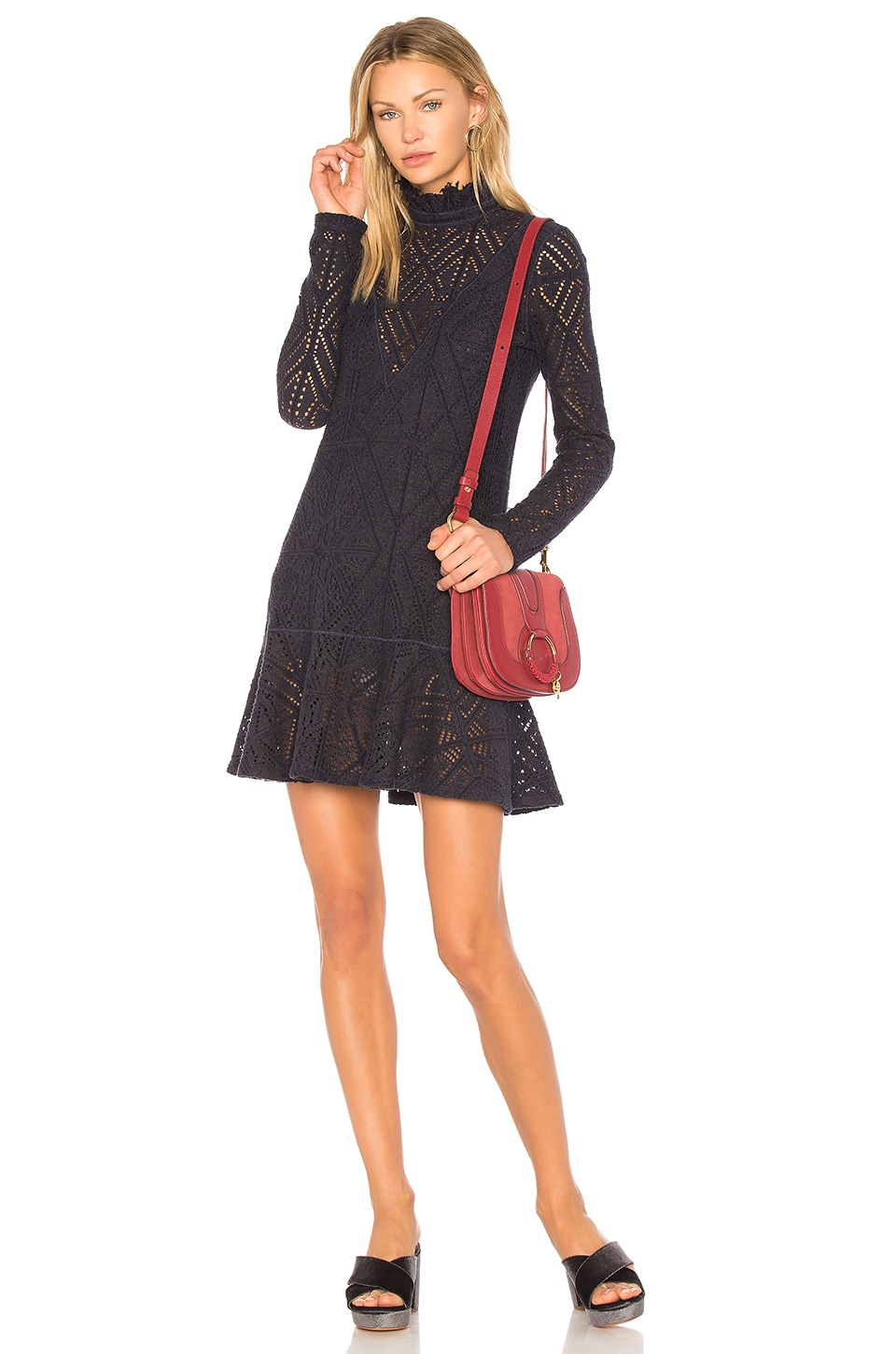 Lace Mini Dress by See By Chloe