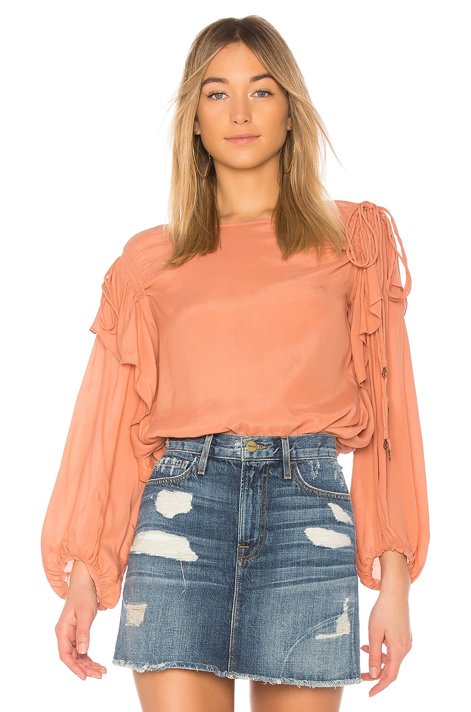 Long Sleeve Blouse by See By Chloe