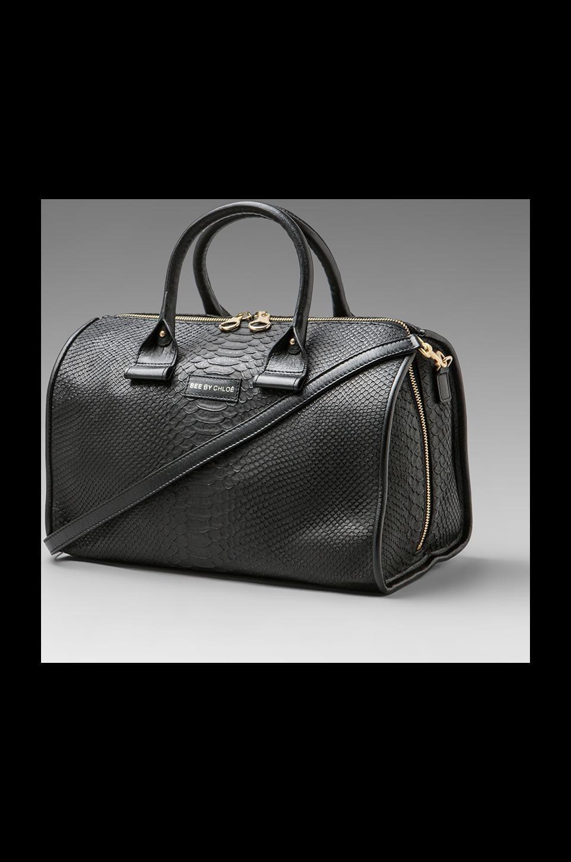 See By Chloe April Big Duffel Bag in Black