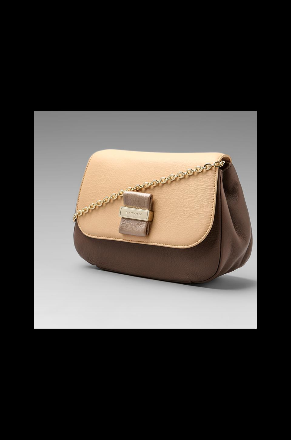 See By Chloe Rosita Chain Purse in Taupe/Cream/Pale Gold