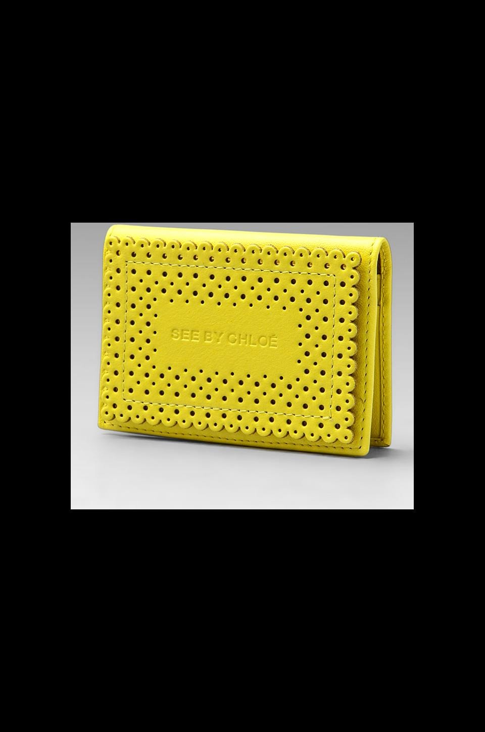 See By Chloe Maani Cardholder in Canary