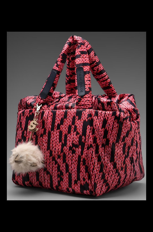 See By Chloe Joy Rider Shoulder Bag in Midnight Print