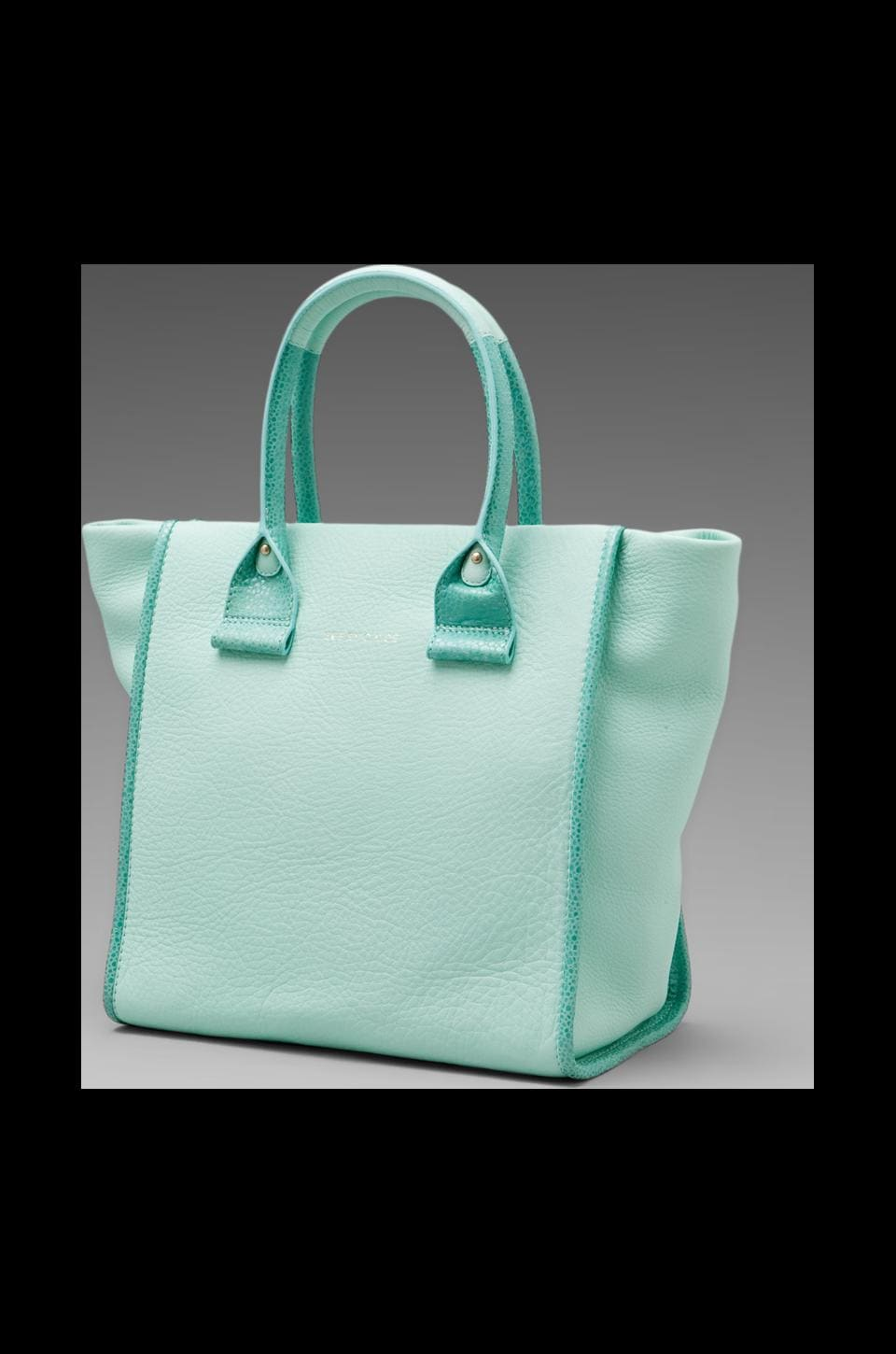 See By Chloe April Small Zip Tote in Aqua Green
