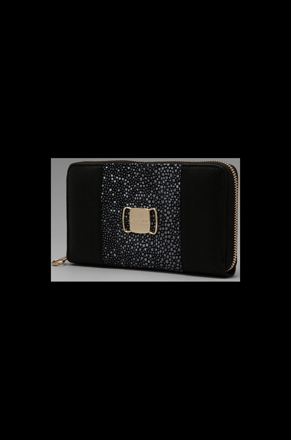 See By Chloe Suzie Long Zip Wallet in Black