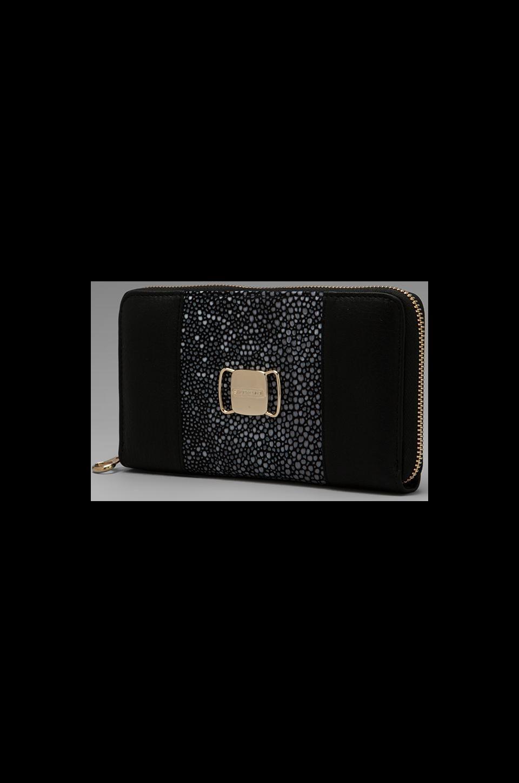 See By Chloe Suzie Long Zip Wallet in Black