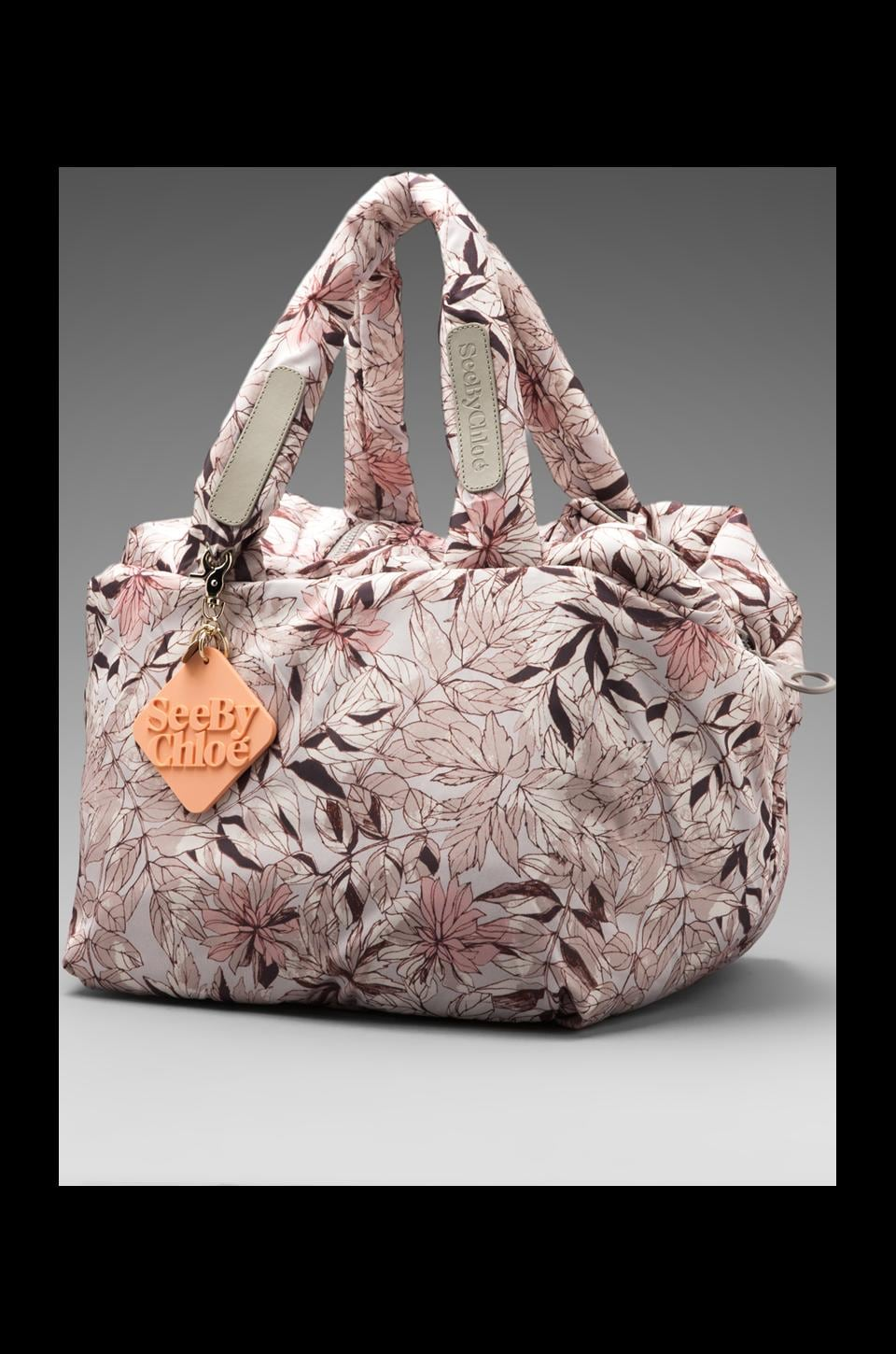 See By Chloe Joyrider Shoulder Bag in Flower Fossil Moon