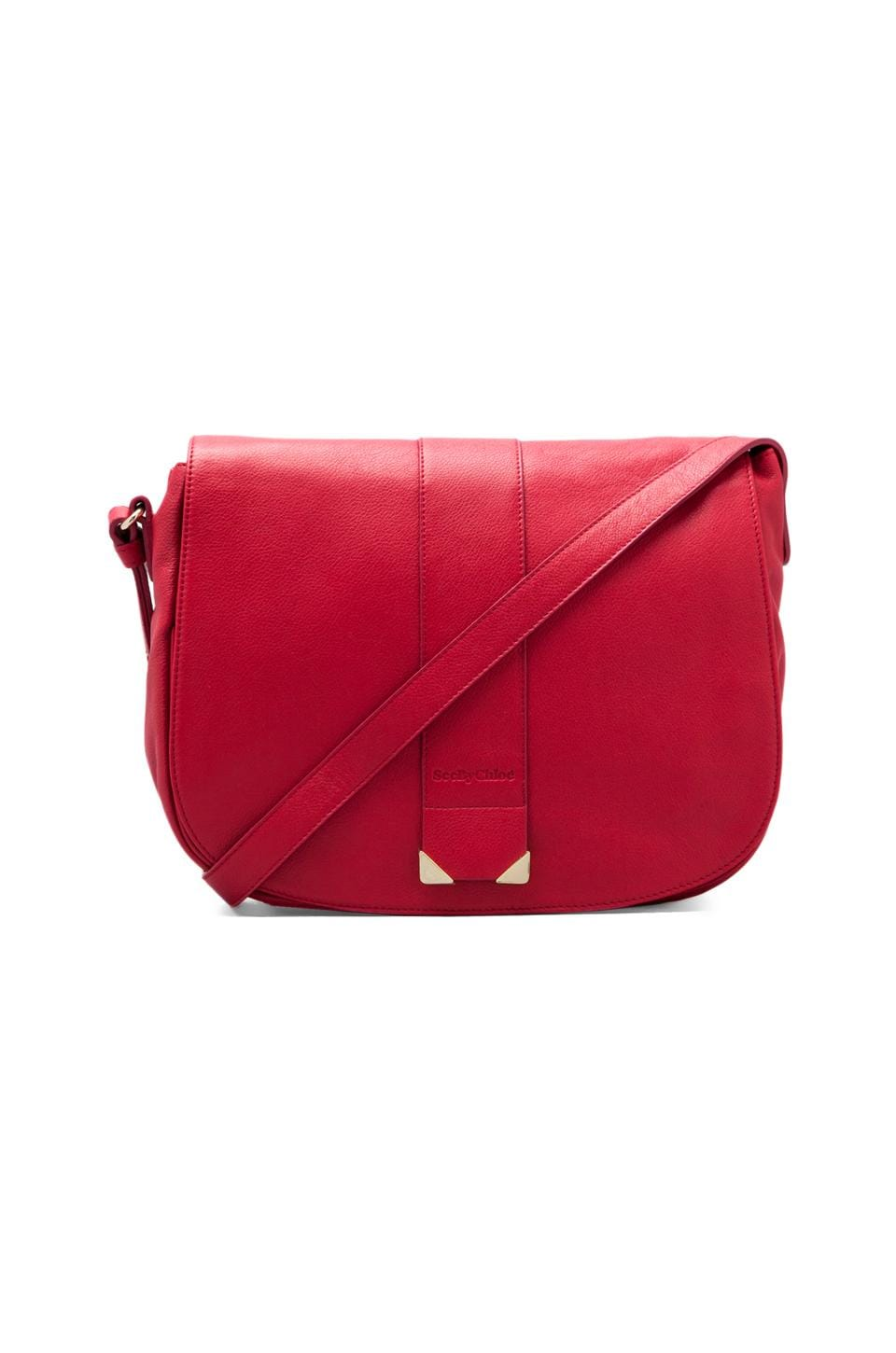 See By Chloe Daisie Crossbody in Red Scarlet