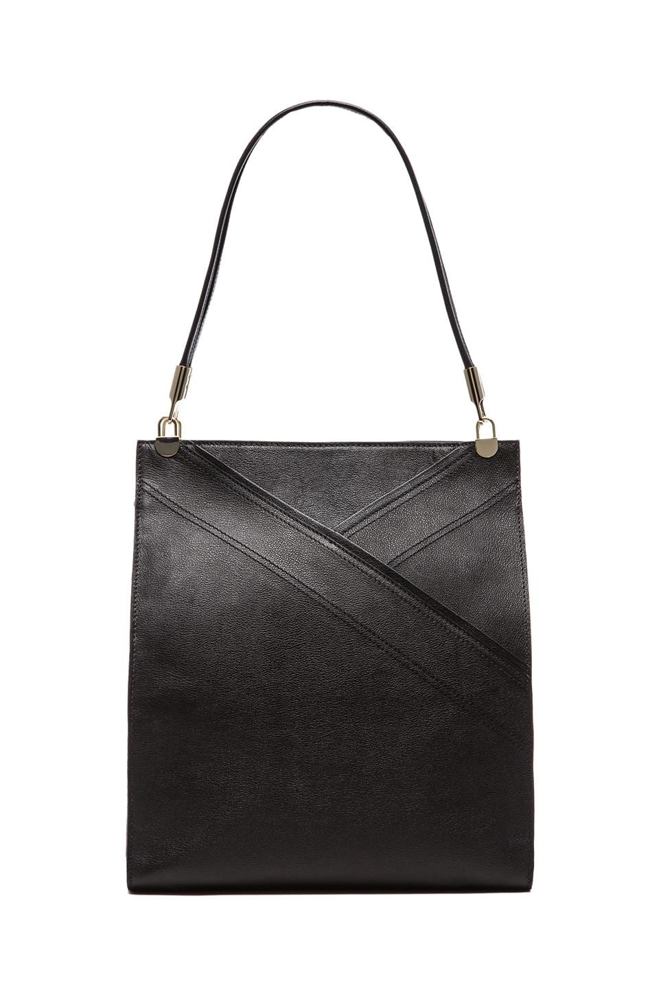 See By Chloe Flora Vertical Tote in Black