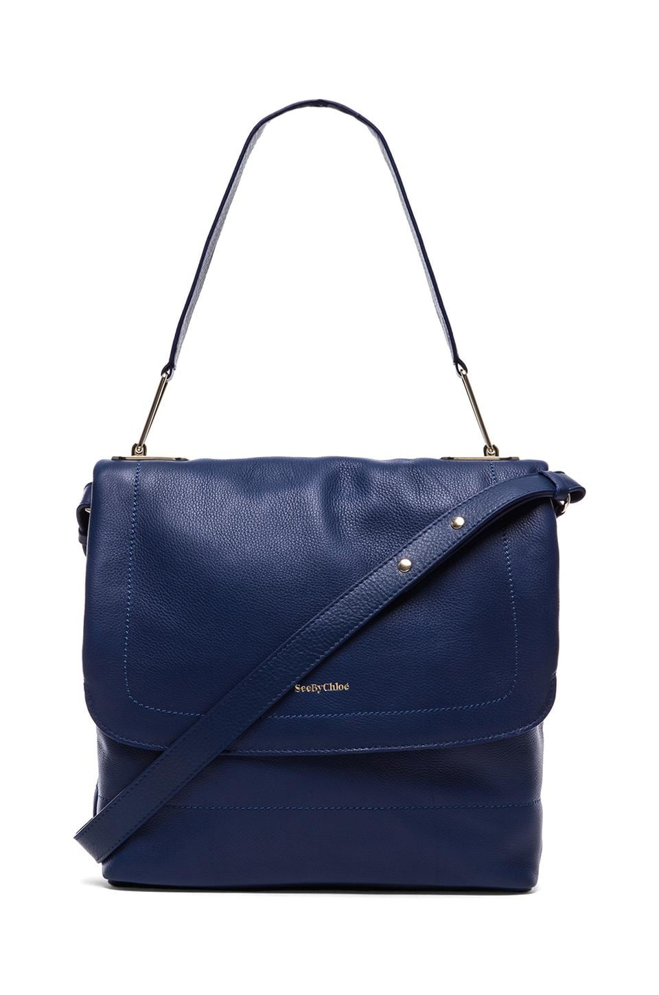 See By Chloe Berty Messenger Bag in Mazarine Blue