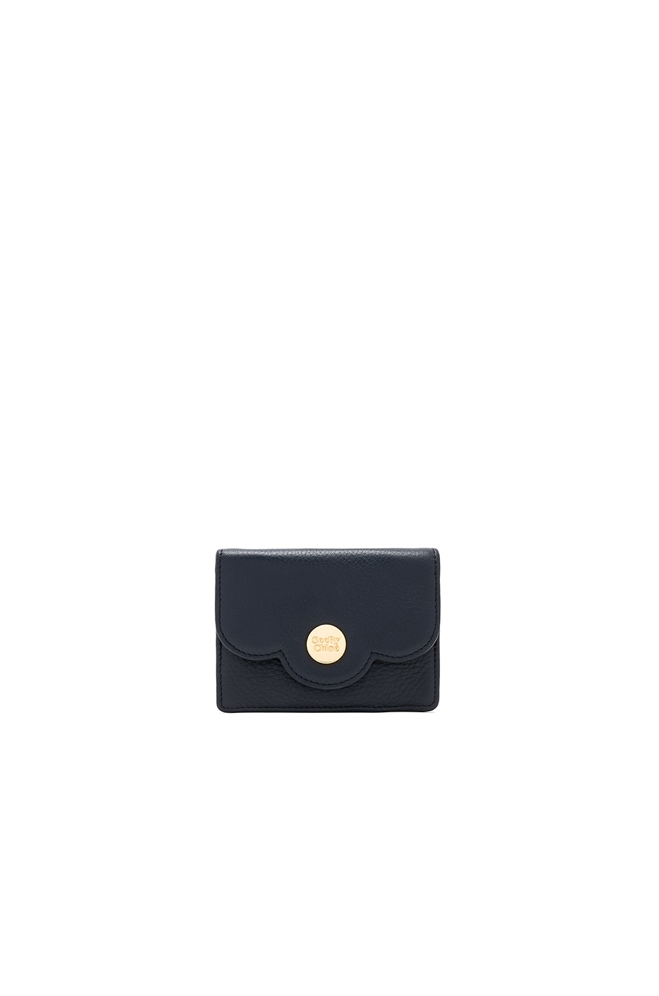 See By Chloe Polina Coin Purse in Midnight