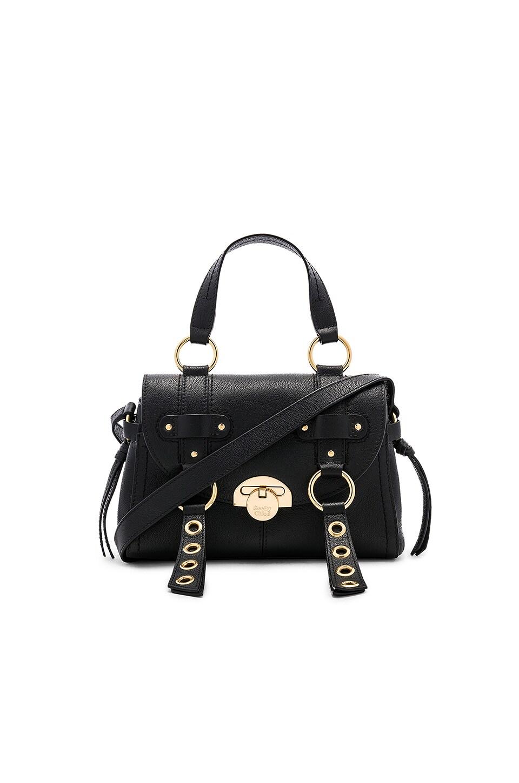 See By Chloe Allen Mini Leather Satchel in Black
