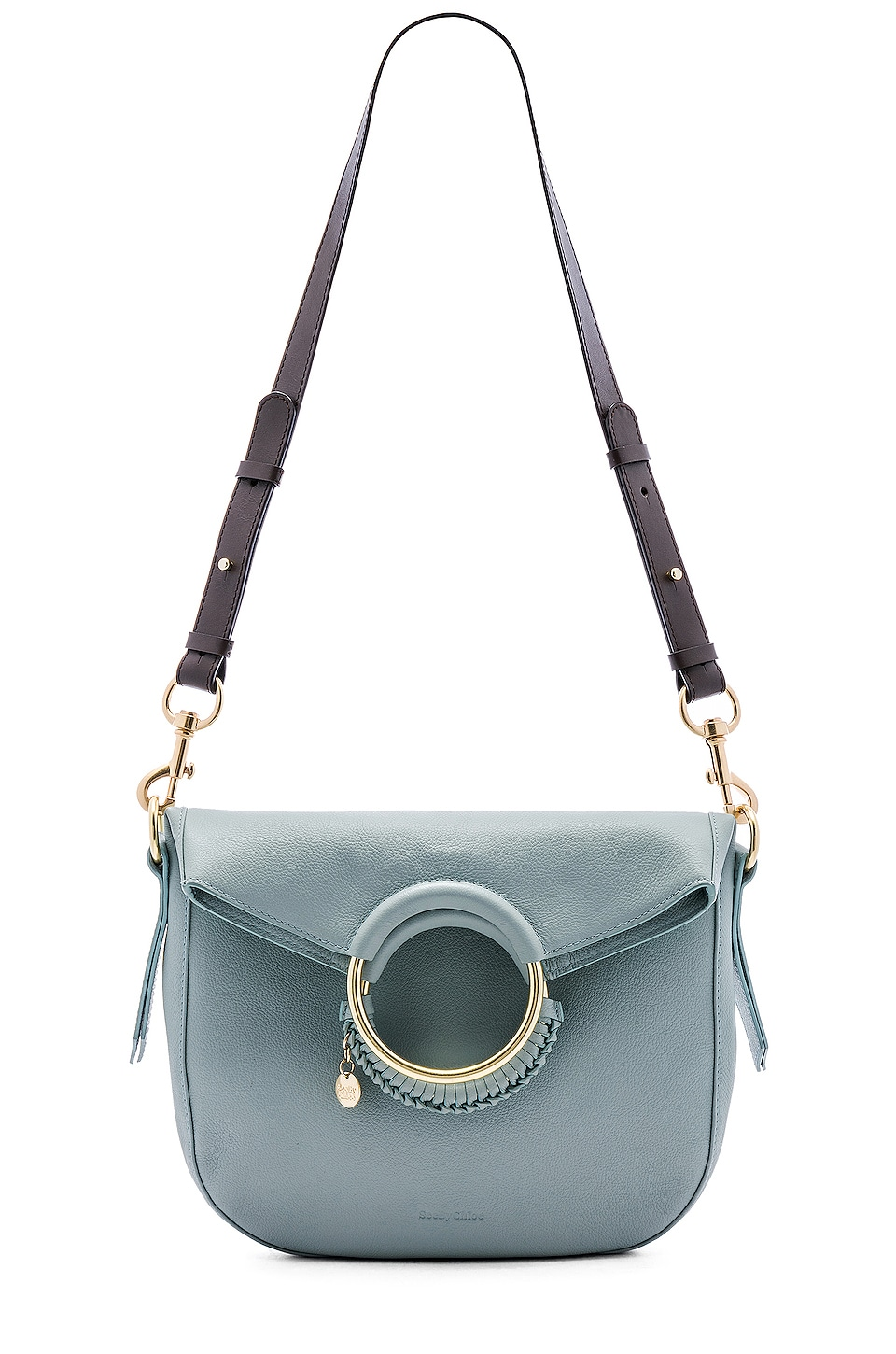 See By Chloe Monroe Medium Bracelet Crossbody in Icy Blue