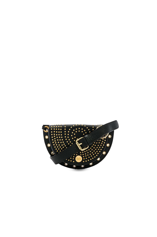 See By Chloe Kriss Studded Belt Bag in Black
