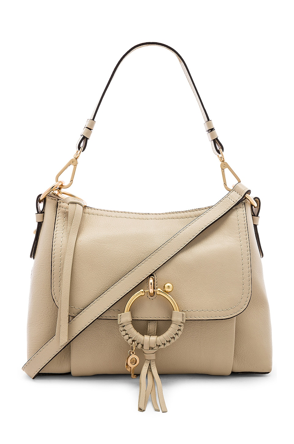 See By Chloe Joan Small Shoulder Bag in Cement Beige
